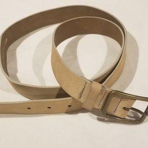 H & M tan leather belt
